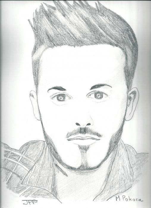 M. Pokora by Boiteadessins